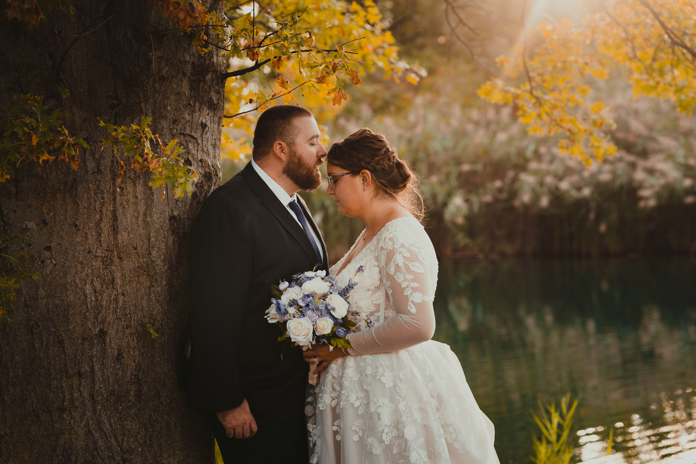 Ahern's Banquet Center wedding